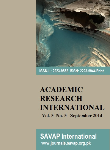 international journal of academic research Internationally registered & peer reviewed impact factor:6023 publication excellence award, 2017 to ijar isra: research unique number (run) value 14082015709.